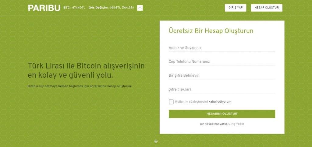 Paribu'dan Bitcoin Nasıl Alınır bitcoin nasıl alınır Bitcoin Nasıl Alınır ? Nereden Alınır ? paribu 1 1024x483