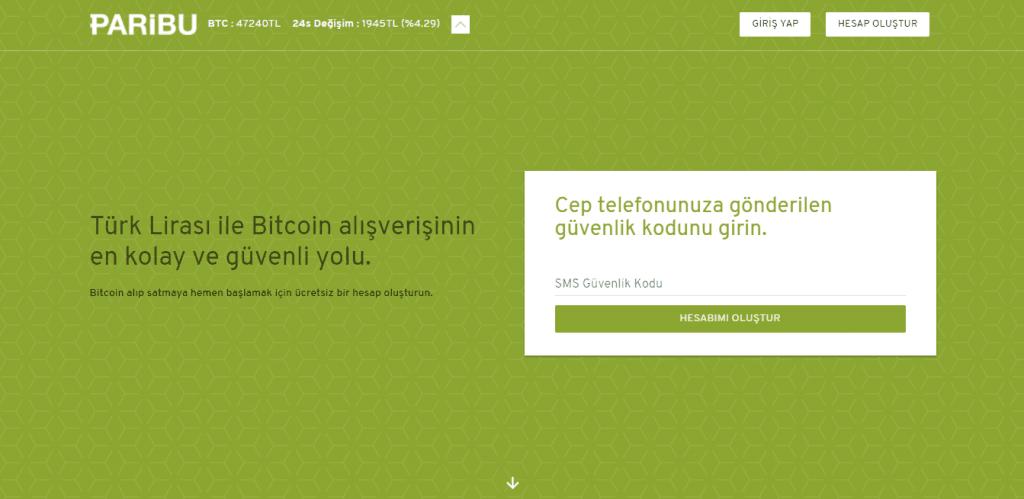 Paribu'dan Bitcoin Nasıl Alınır bitcoin nasıl alınır Bitcoin Nasıl Alınır ? Nereden Alınır ? paribu 2 1024x499