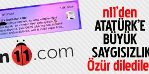 Boykot Edilen N11'den 10 Kasım ile ilgili Açıklama Geldi