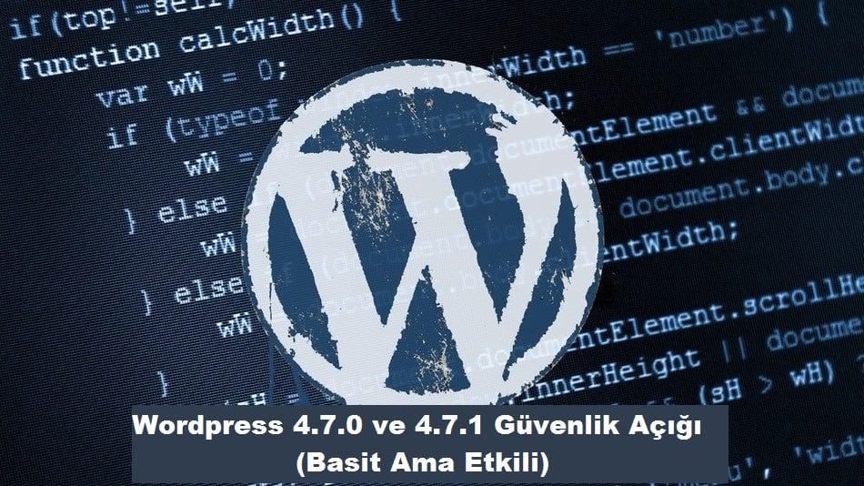 Wordpress Güvenlik Açığı wordpress güvenlik açığı Wordpress Güvenlik Açığı (4.7.0 ve 4.7.1) wordpress code image11