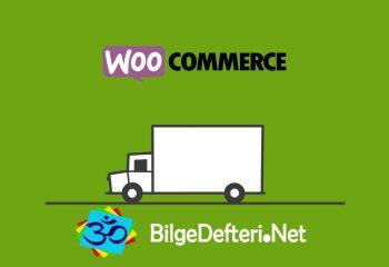 Woocommerce Ürün Ağırlığına Göre Kargo Hesaplama