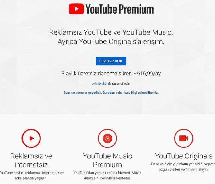 youtube premium YouTube Premium nedir ? Özellikleri Neler ? 5FA5A2D4 53E6 42A6 BAAF DF71012CEF95