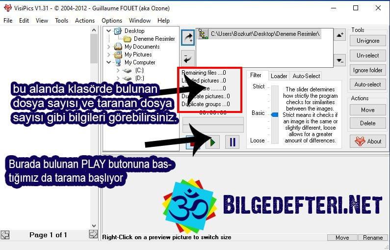 bilgisayarda aynı fotoğrafları bulma Bilgisayarda Aynı Fotoğrafları Bulma VisiPics 3