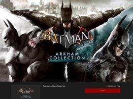 200 TL Değerinde 6 Batman Oyunu Kısa Süreliğine Ücretsiz batman arkham 1 270x200