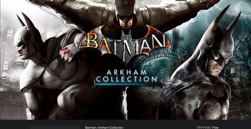 200 TL Değerinde 6 Batman Oyunu Kısa Süreliğine Ücretsiz 200 TL Değerinde 6 Batman Oyunu Kısa Süreliğine Ücretsiz batman arkham 1 810x417