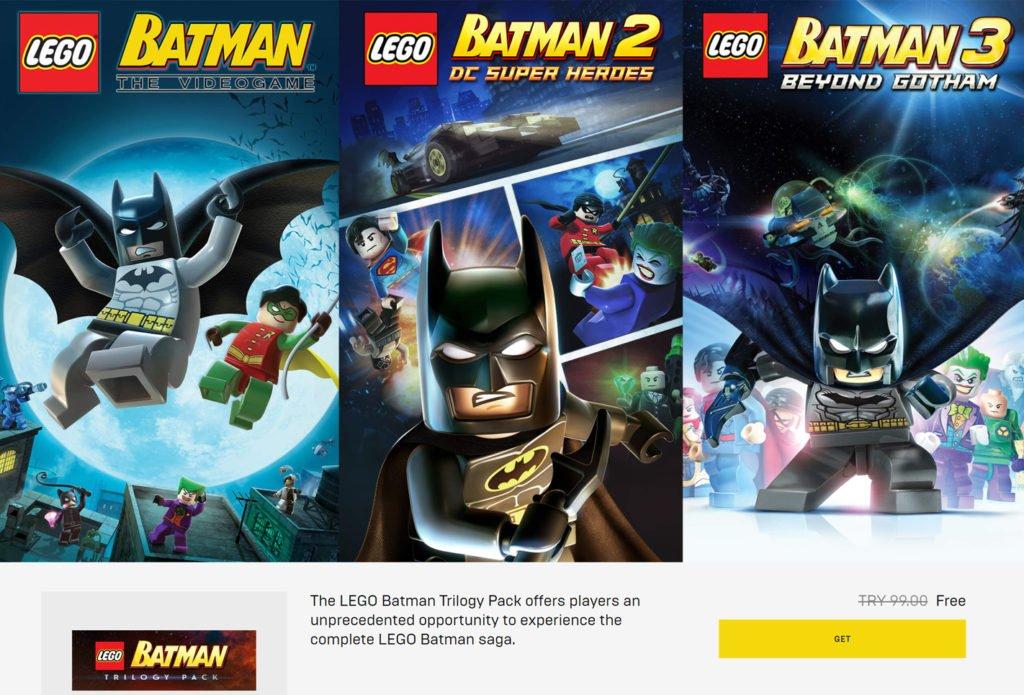 200 TL Değerinde 6 Batman Oyunu Kısa Süreliğine Ücretsiz 200 TL Değerinde 6 Batman Oyunu Kısa Süreliğine Ücretsiz batman lego 1 1024x695