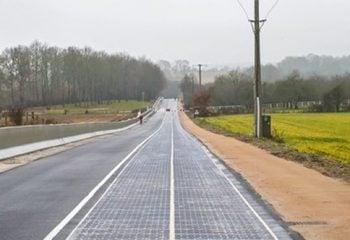 İlk Güneş Enerjili Yol Fransa'da!
