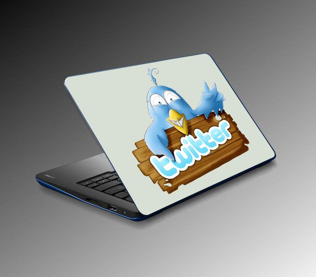 Twitter'da Sticker Dönemi Başlıyor! Twitter'da Sticker Dönemi Başlıyor! TwitterLogoLaptopSticker 2093