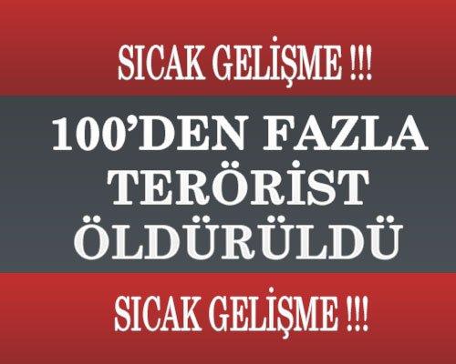 100'den Fazla Terörist Öldürüldü 100'den fazla terörist Öldürüldü 100'den Fazla Terörist Öldürüldü Untitled 1 2