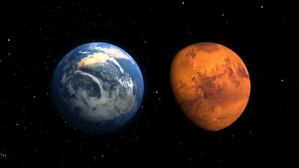 İnsansı Robotlar Marsa Gidiyor! İnsansı Robotlar Marsa Gidiyor! mars globes wet dry