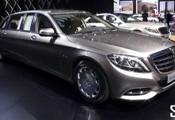 Mercedes-Benz'in Milyon Dolarlık Limuzini Tanıtıldı!