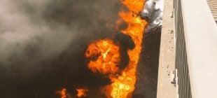 Gaz Yüklü Tanker Uçtu Sürücü Alevler İçinde Can Verdi
